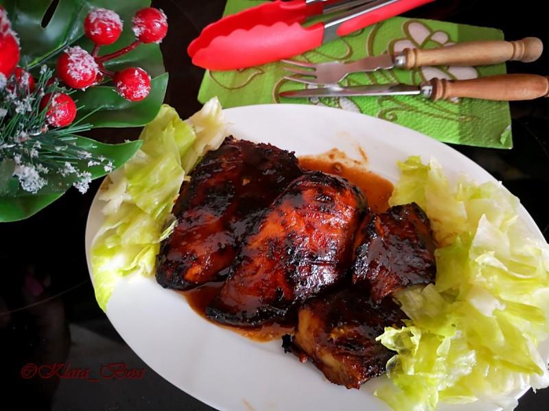 Хули хули - полинезиска скара од пилешки стек