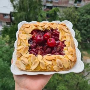 Мини галети со свежо овошје