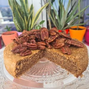 Колач со ореви и кандиран пекан (без брашно)