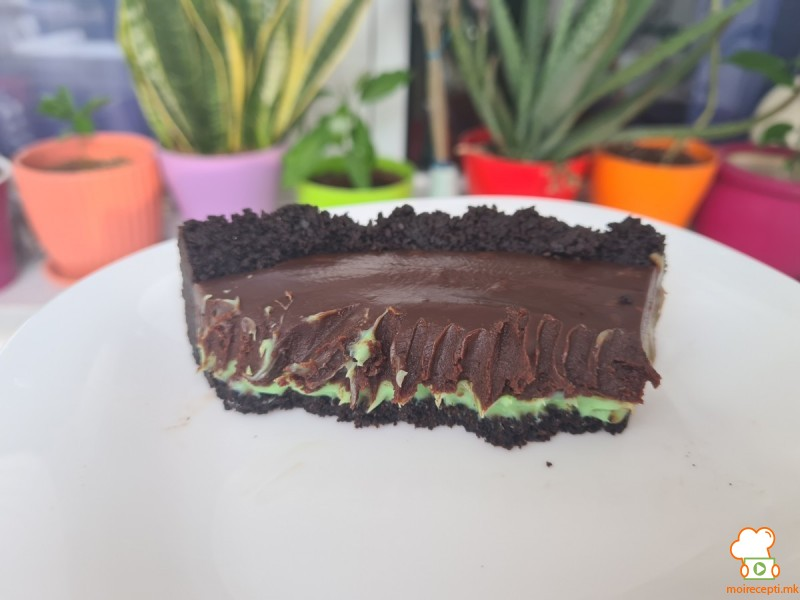 Чоко-ментол тарт