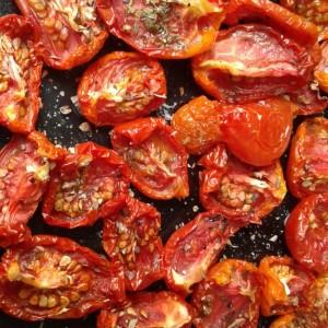 Сушен домат на Сонце