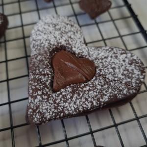 Чоколадни линцер колачиња