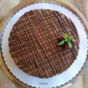 Торта чоко-вишна