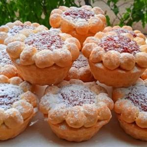 Мини Тарт (со фил од смокви и гриз)
