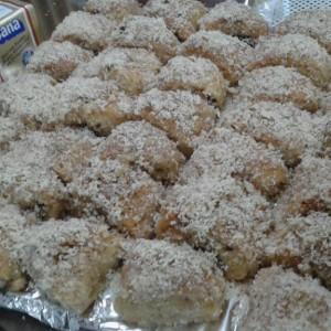 Посни колачи со ореви