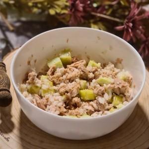 Лесна салата со ориз